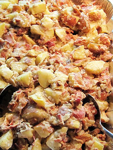 Big-Batch Bacon and Potato Salad