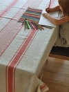 Provence-Style Linen Tablecloth