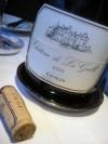 Restaurant la Chronique Incredible wine