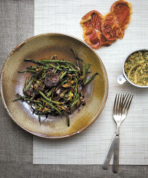 Deconstructed Green Bean Casserole | Starters & Sides | Feast Magazine
