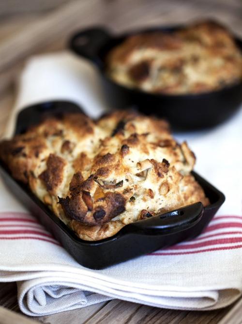 Wild Mushroom Bread Pudding | | Feast Magazine