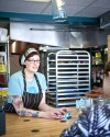 Pint Size Bakery owner/pastry chef Christy Augustin