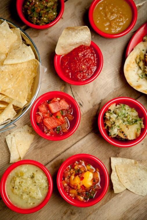 Diablitos Cantina's salsa