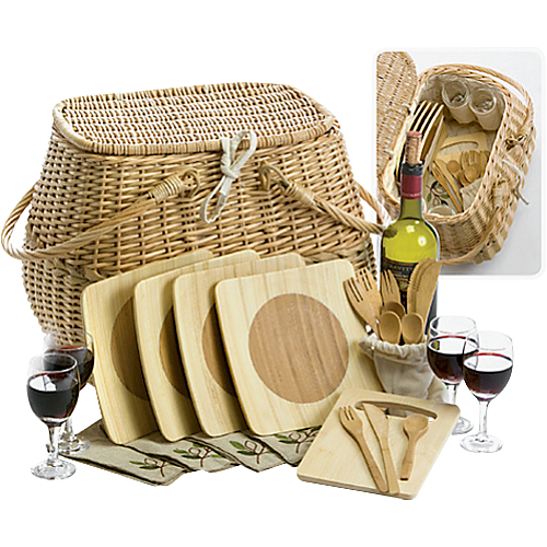 Picnic Plus Eco-Friendly Picnic Basket