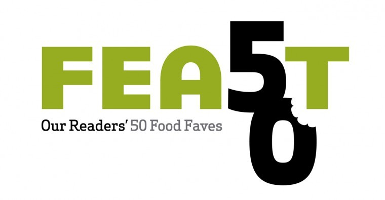 FEAST 50, home page