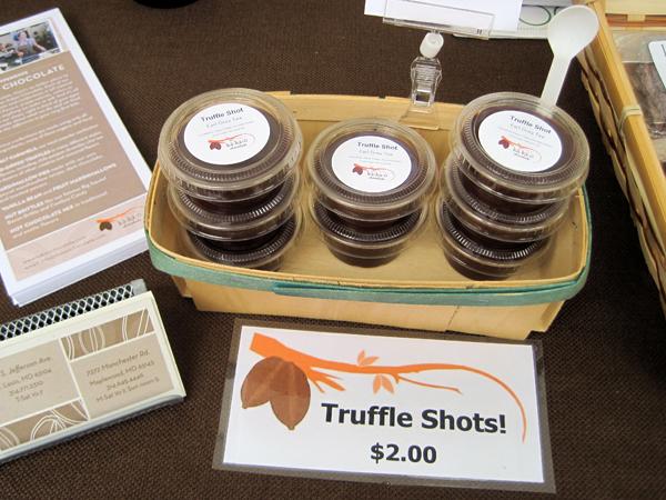 Kakao's Truffle Shots