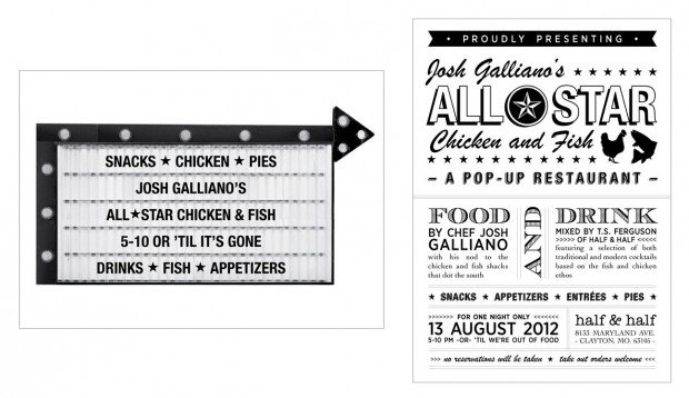 The feed chef josh galliano shares fried chicken pop up for Jr fish and chicken menu