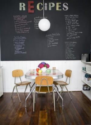 Design Bites: Chalkboards Aren't Just for School Anymore