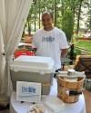 John Clopton, owner of Frostbite Gourmet Ice Cream