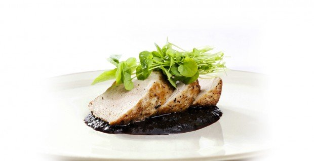 ... Pork Tenderloin with Dark Chocolate, Cherry, Port Pan Sauce : Recipes