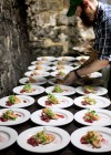 Plating the third course