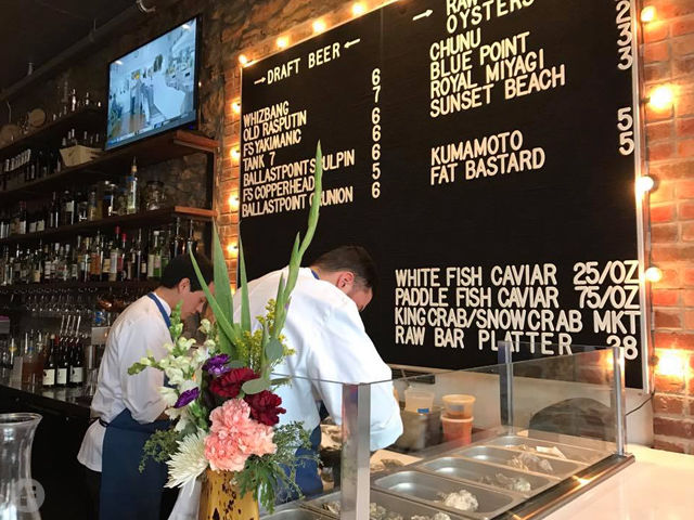 mass st fish house raw bar makes a splash in downtown