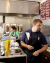 The Gyro Company kitchen crew at work