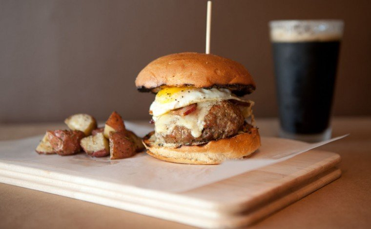 Out to Lunch: Home Wine Kitchen's burger