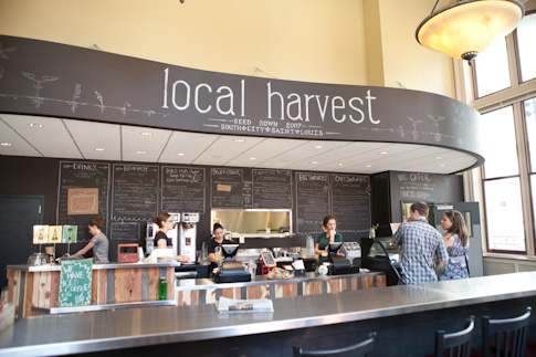 Inside Local Harvest Cafe's Downtown St. Louis location