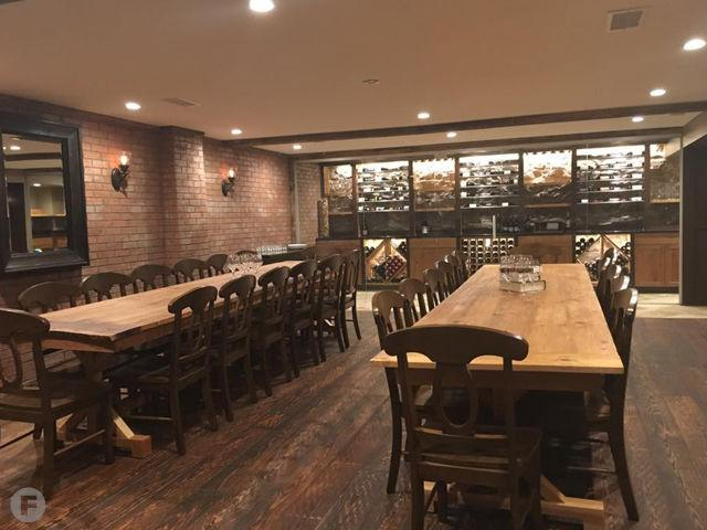 Taste a private wine tasting room now open inside of for Best private dining rooms kansas city