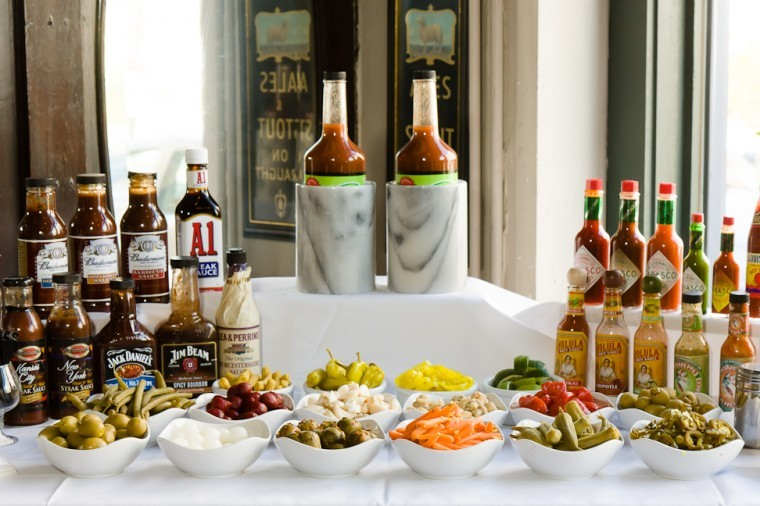 How To Build Your Own Bloody Mary Bar Feast Magazine