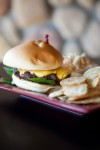 One 19 North's burger