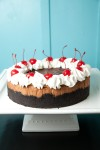 de.lish's black forest cheesecake