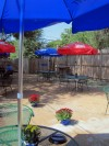The patio at Schoemehl's South Side Grill