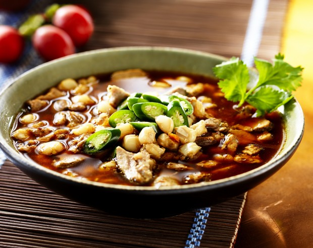 Red Chile Duck Posole : Recipes
