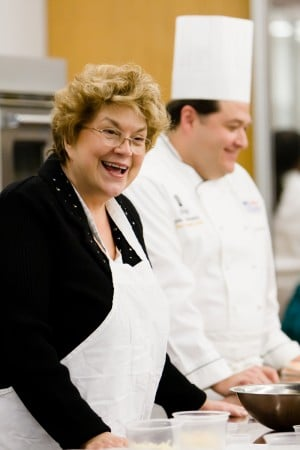 Behind-The-Scenes: An Appetizing Evening with Lynne Rossetto Kasper