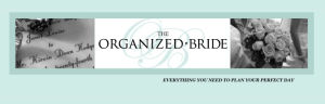 The Organized Bride