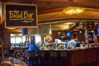 Another grocery store food court think again archive for Food bar wegmans