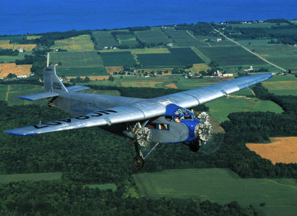 1929 Ford Tri Motor Airplane Is Aviation History Coming To