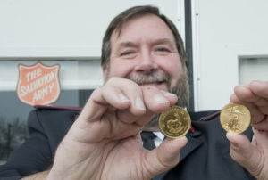 Salvation Army strikes gold twice in four days through anonymous kettle donation