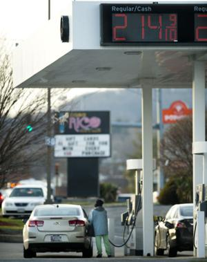 Gas price decline continues