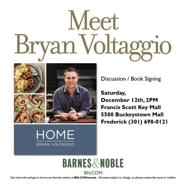 Barnes And Noble In Frederick Md Meet Bryan Voltaggio