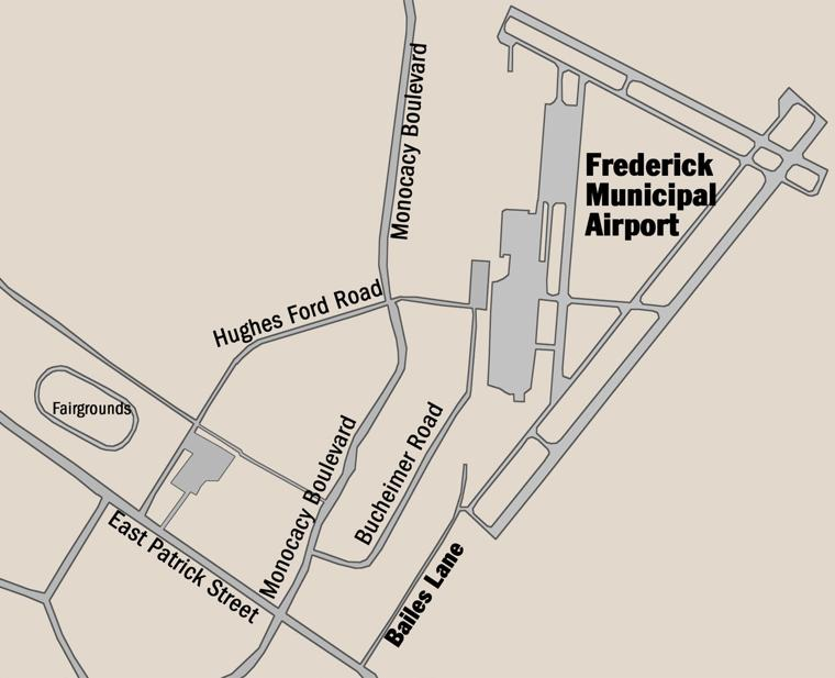 Bailes lane demolition to go to bid runway expansion for Frederick subaru motor company