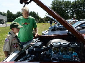 Cars cook food at annual fundraiser