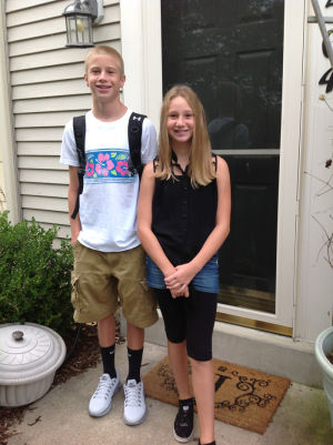 First Day Of School: 9th grade at Tuscarora, 6th grade at Ballenger ...