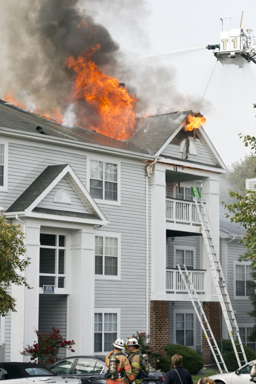 Crystal Park At Waterford Apartment Fire News