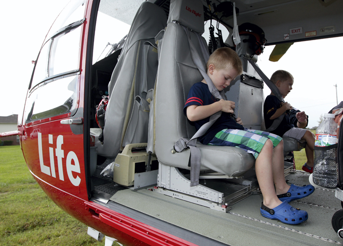 A Life Flight tour