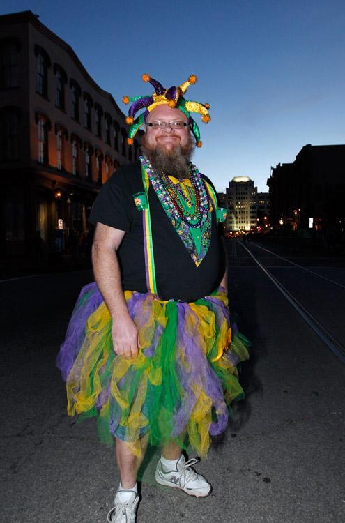 Mardi Gras Friday Night