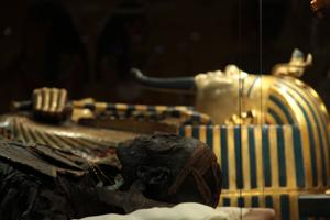 <p>Egyptian exhibition at Highclere.</p>