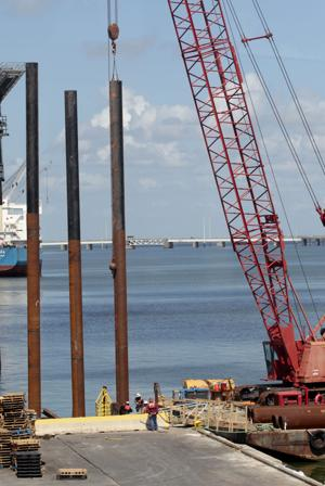 Costs increase on wharf expansion at Cruise Terminal No. 2