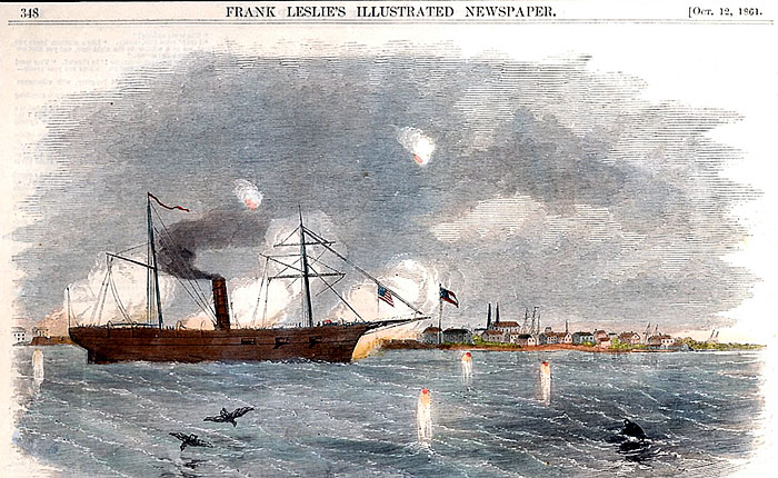 Texas' first battle in the Civil War