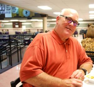 <p>Mayor Jim Yarbrough was just one of hundreds of Galvestonians who came out in support of last year's Rotary Club of Galveston Chili Supper. This year's 40th annual event is set for Nov. 9 in the cafeteria of Ball High School.</p>