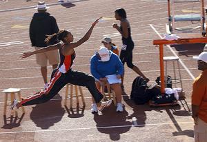 Garcia sets triple jump mark