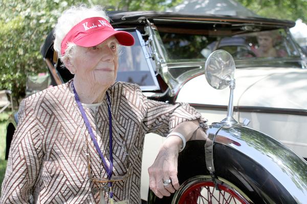 Belle of Keels and Wheels still motoring at 103