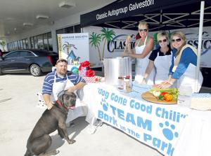 Bark in the Park chili team