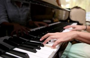 Dickinson student wins awards playing piano