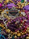 For some Mardi Gras revelers, leftover beads can be used creatively