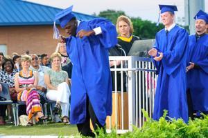 Dickinson High School graduation
