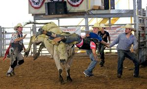 Rodeo takes ride on the wild side