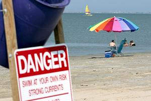 Learn Galveston County's deadliest and safest areas to swim